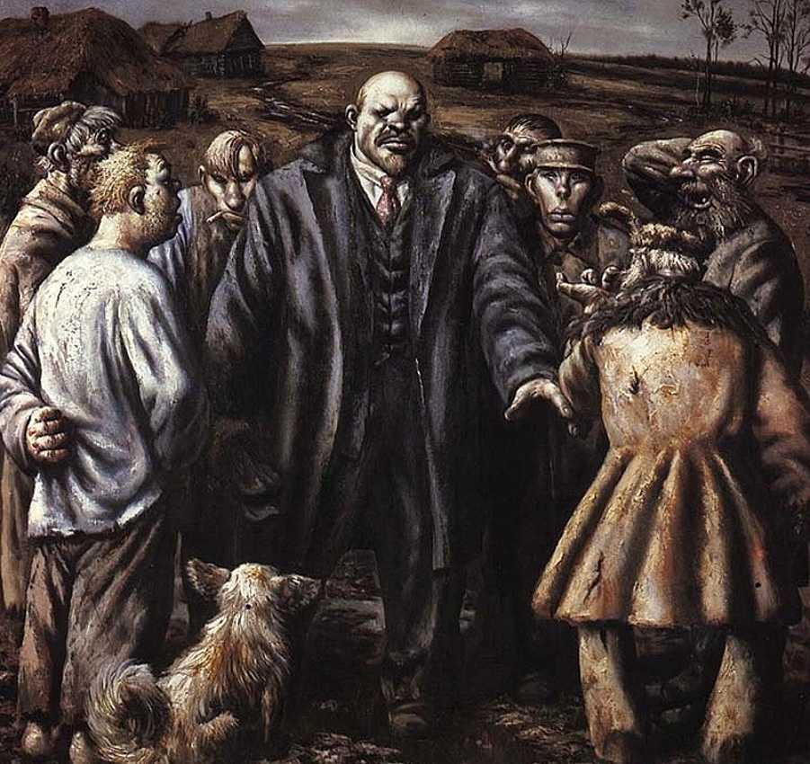 Ленин и крестьяне