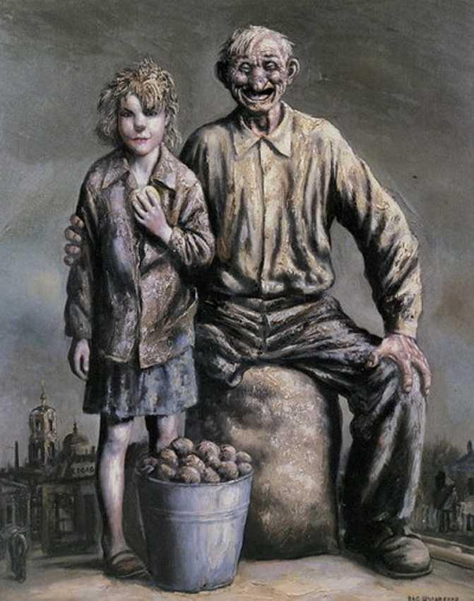 Продавцы картофеля