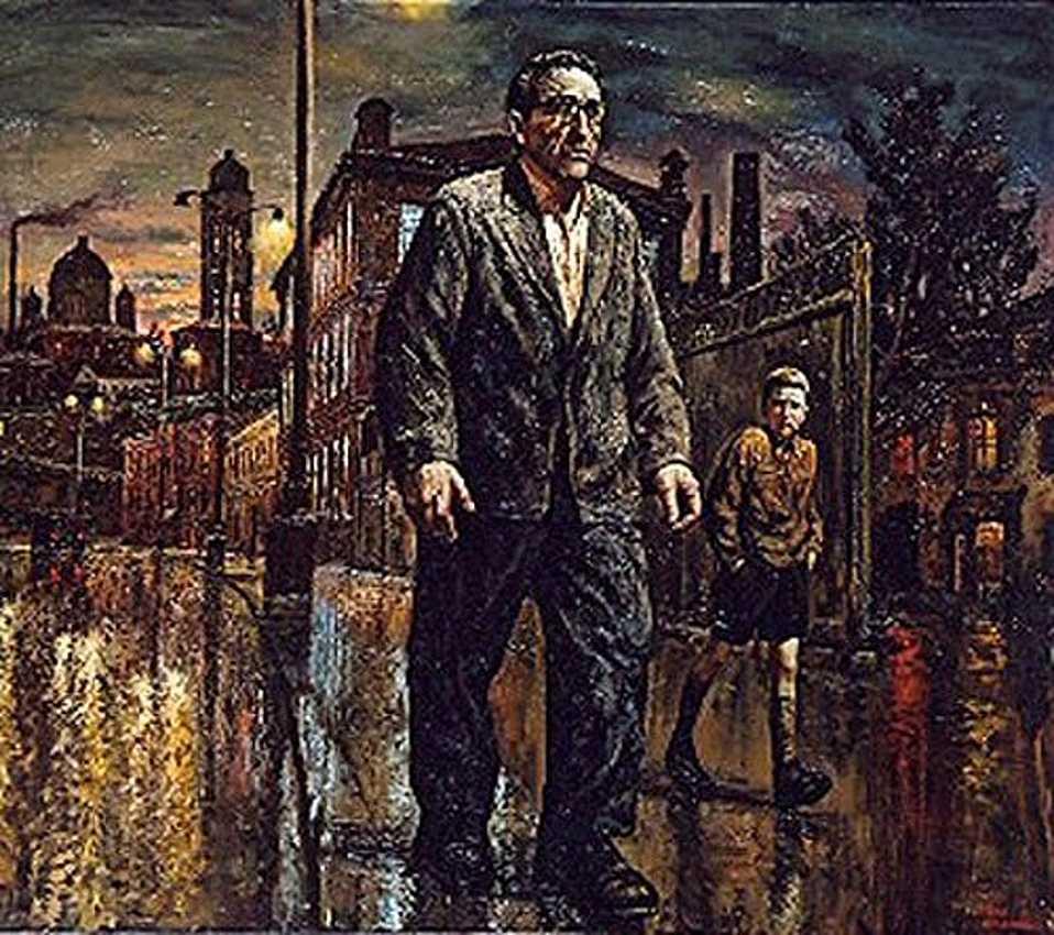 Прогулки с отцом по ночной Москве