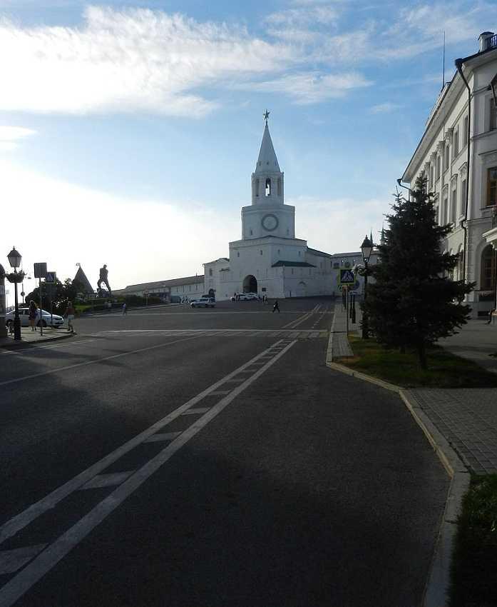 Kazan Kremlin: the Spasskaya Tower