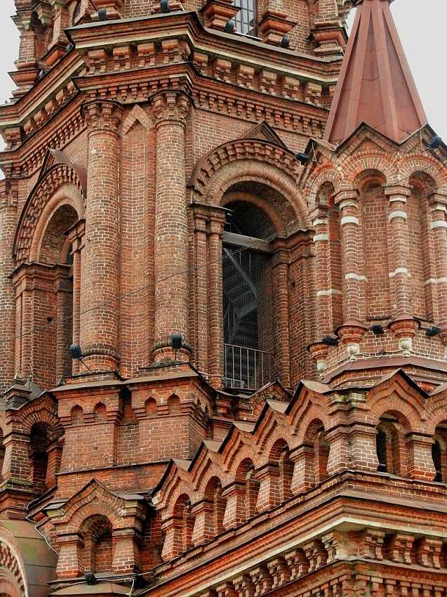Epiphany Cathedral belltower. Bauman Street, Kazan
