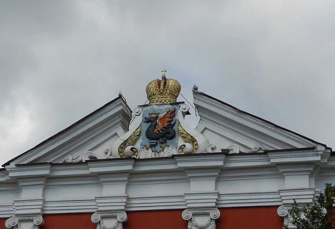 winged snake Zilant, the symbol of Kazan