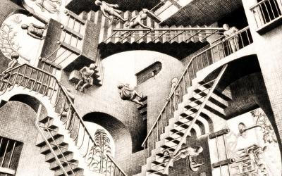 Авангард: вниз по лестнице